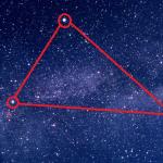夏の大三角形の簡単な覚え方!夏の星座